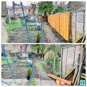 Handyman London fences replacement.